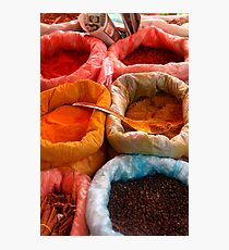 Spices Photographic Print