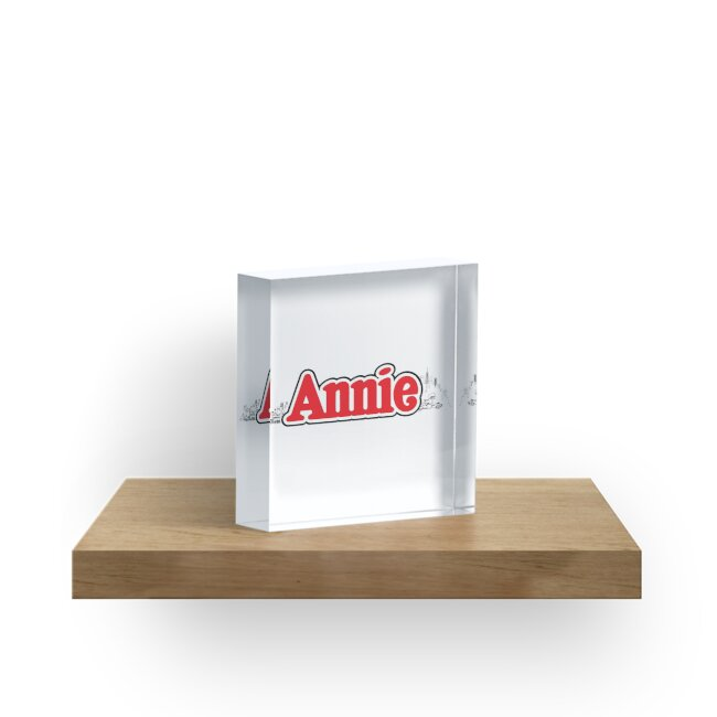 ANNIE - Title with NY by DCdesign