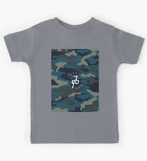 Jake Paul blue camo Kids Tee