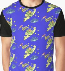 Andys 90'sToy Story Bed Replica Buzz Lightyear Graphic T-Shirt