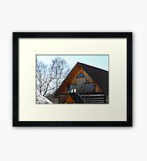 George's Farm House Framed Print