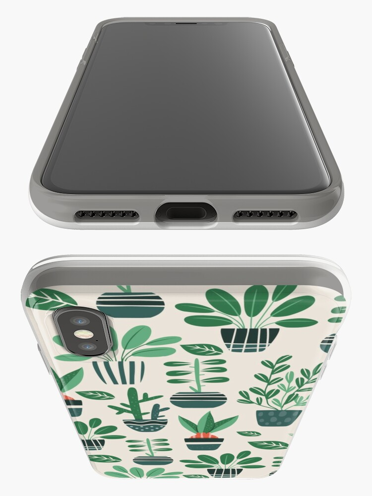 Alternate view of Potted Plants iPhone Case & Cover