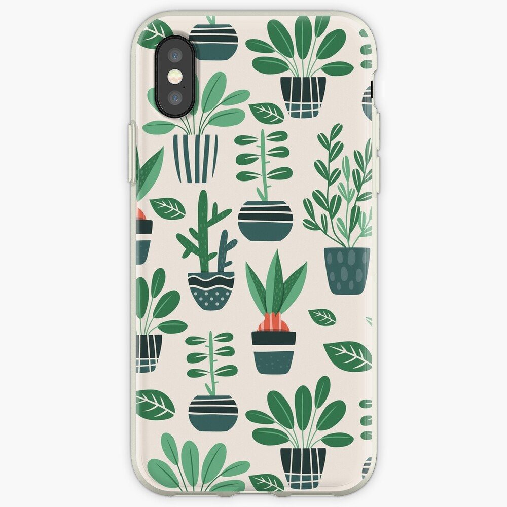 Potted Plants iPhone Case & Cover