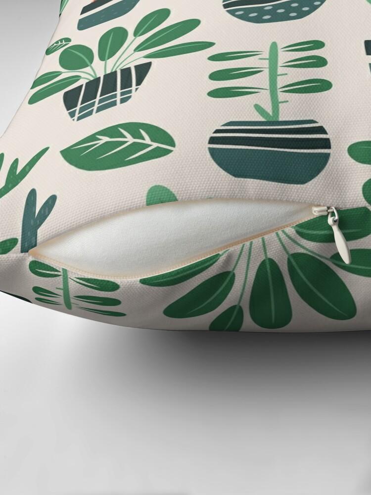 Alternative Ansicht von Topfpflanzen Dekokissen