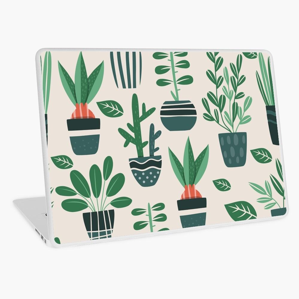 Potted Plants Laptop Skin