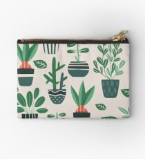 Potted Plants Studio Pouch