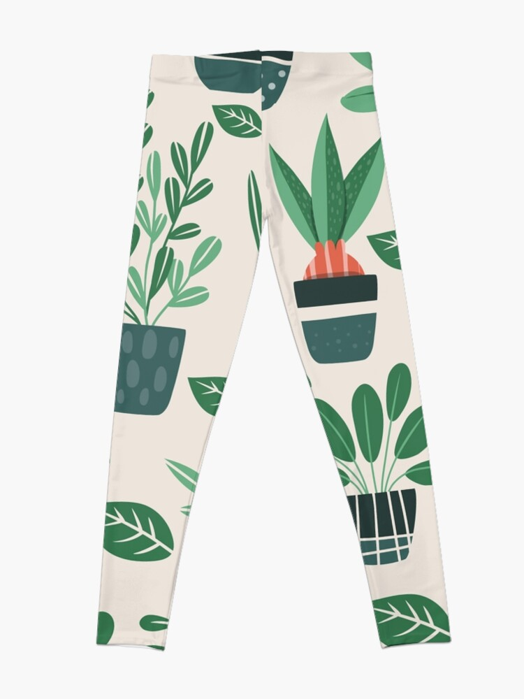Alternate view of Potted Plants Leggings