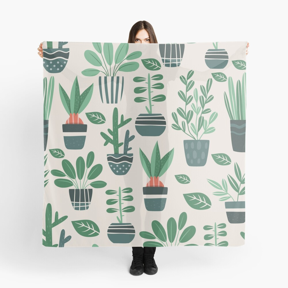 Potted Plants Scarf