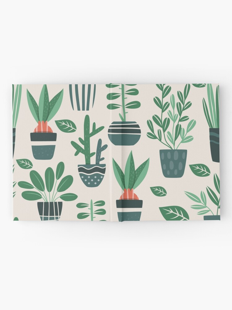 Alternate view of Potted Plants Hardcover Journal