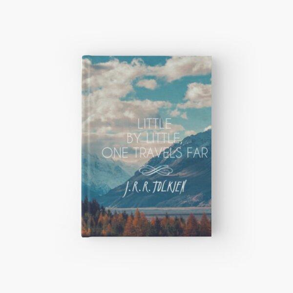 little by little one travels far- j.r.r.tolkien Hardcover Journal
