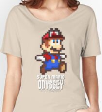 Super Mario Odyssey - Pixel Art! Women's Relaxed Fit T-Shirt
