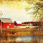 Farm Along the Apple River by Nadya Johnson