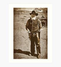 The Gun Slinger Art Print