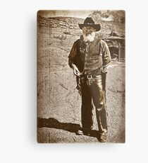 The Gun Slinger Metal Print