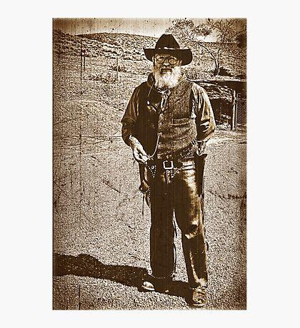 The Gun Slinger Photographic Print
