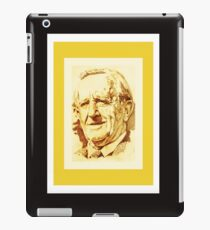 J. R. R. Tolkien (golden) iPad Case/Skin
