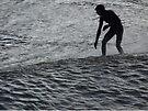 Saltburn Surfing #3 by Graham Geldard