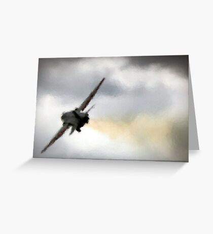 Vapour Trail Greeting Card