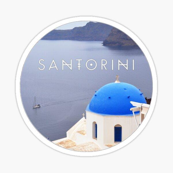 Santorini (Greece) Sticker
