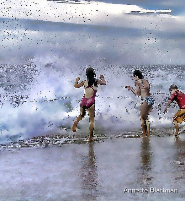 Beach Play by Annette Blattman