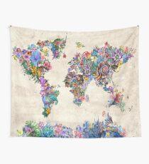 Weltkarte Wandbehang