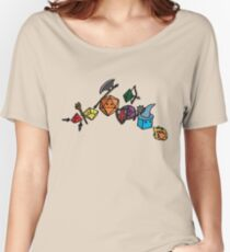 Dice Party - Sketch Version Women's Relaxed Fit T-Shirt