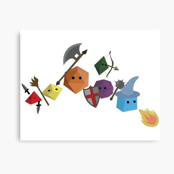 Dice Party Canvas Print