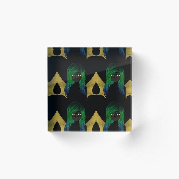 WICKED PIXIES - Dragonfly Pixie Acrylic Block