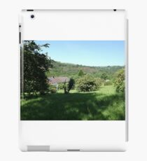 Mein Gartenblick groß iPad-Hülle & Klebefolie