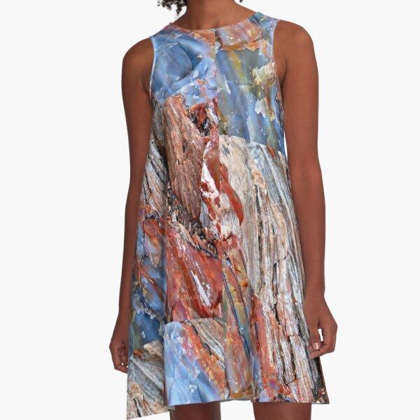 Cascades A-Line Dress