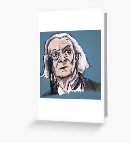 First Lord of Time Greeting Card