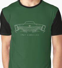 1967 Cadillac - front stencil, white Graphic T-Shirt