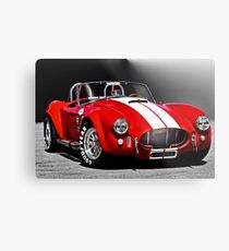 1966 Shelby Cobra 'Revolution' I Metal Print