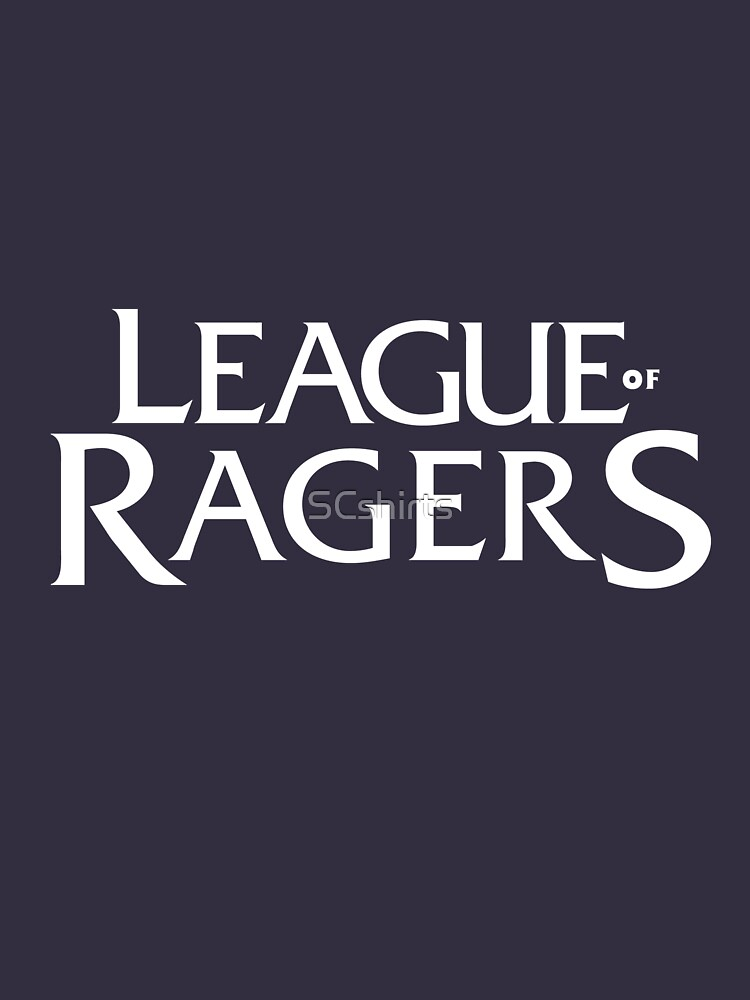 League of Ragers - Invert by SCshirts