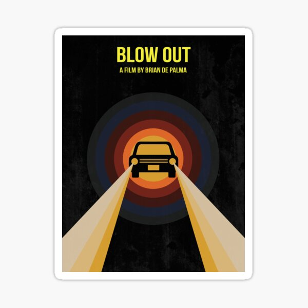 Blow Out Sticker