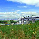 The Falkirk Wheel II by Tom Gomez