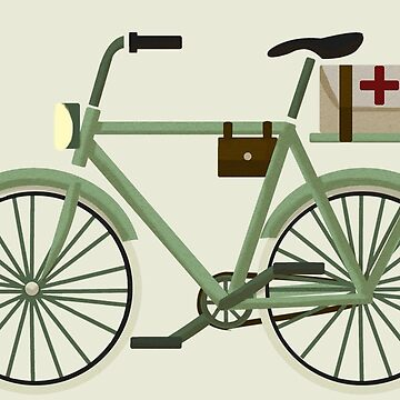 WW1 Bicycle by PostMortemShop