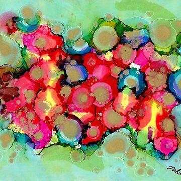 """Energy Emerging"" - Original, Colorful Artist's Design! by zeneriffic"