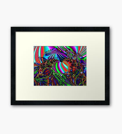 Eve's Temptation Framed Print