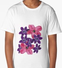 Cluster of Flowers Long T-Shirt