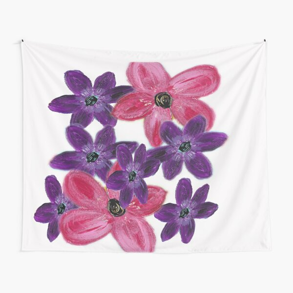 Cluster of Flowers Tapestry