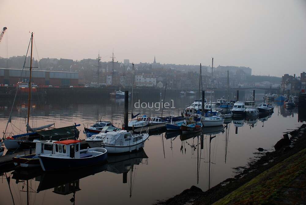 Whitby in the mist by dougie1