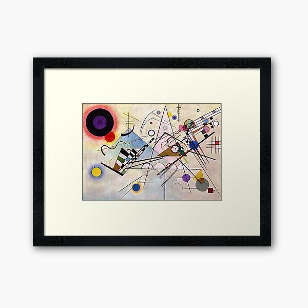 Composition VIII by Kandinsky Framed Art Print