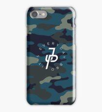 Jake Paul blue camo iPhone Case/Skin