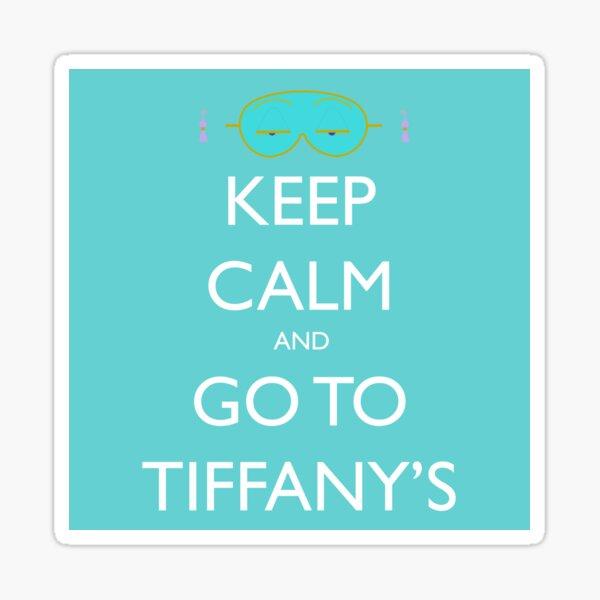 Go to Tiffany's Sticker