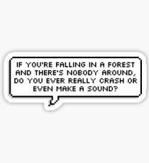 Dear Evan Hansen - Waving Through a Window Sticker