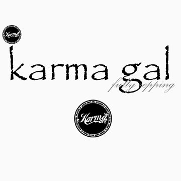 karma gal t-shirts ( supports/models) by 831karma
