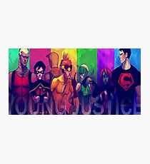 Young Justice 2 Photographic Print