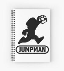 Jumpman Spiral Notebook