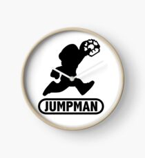 Jumpman Clock